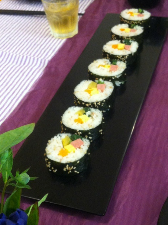 料理教室・・・韓国料理「キンパなど」_f0141419_543060.jpg