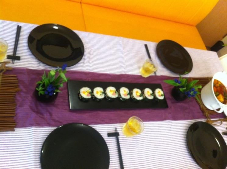 料理教室・・・韓国料理「キンパなど」_f0141419_54397.jpg