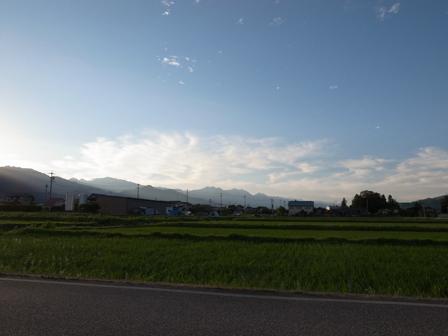 山がきれいな夕暮れ_a0014840_23173955.jpg