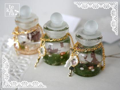 小瓶と人魚姫が完成♪その1*_a0139874_9144052.jpg