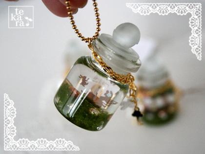 小瓶と人魚姫が完成♪その1*_a0139874_9145345.jpg