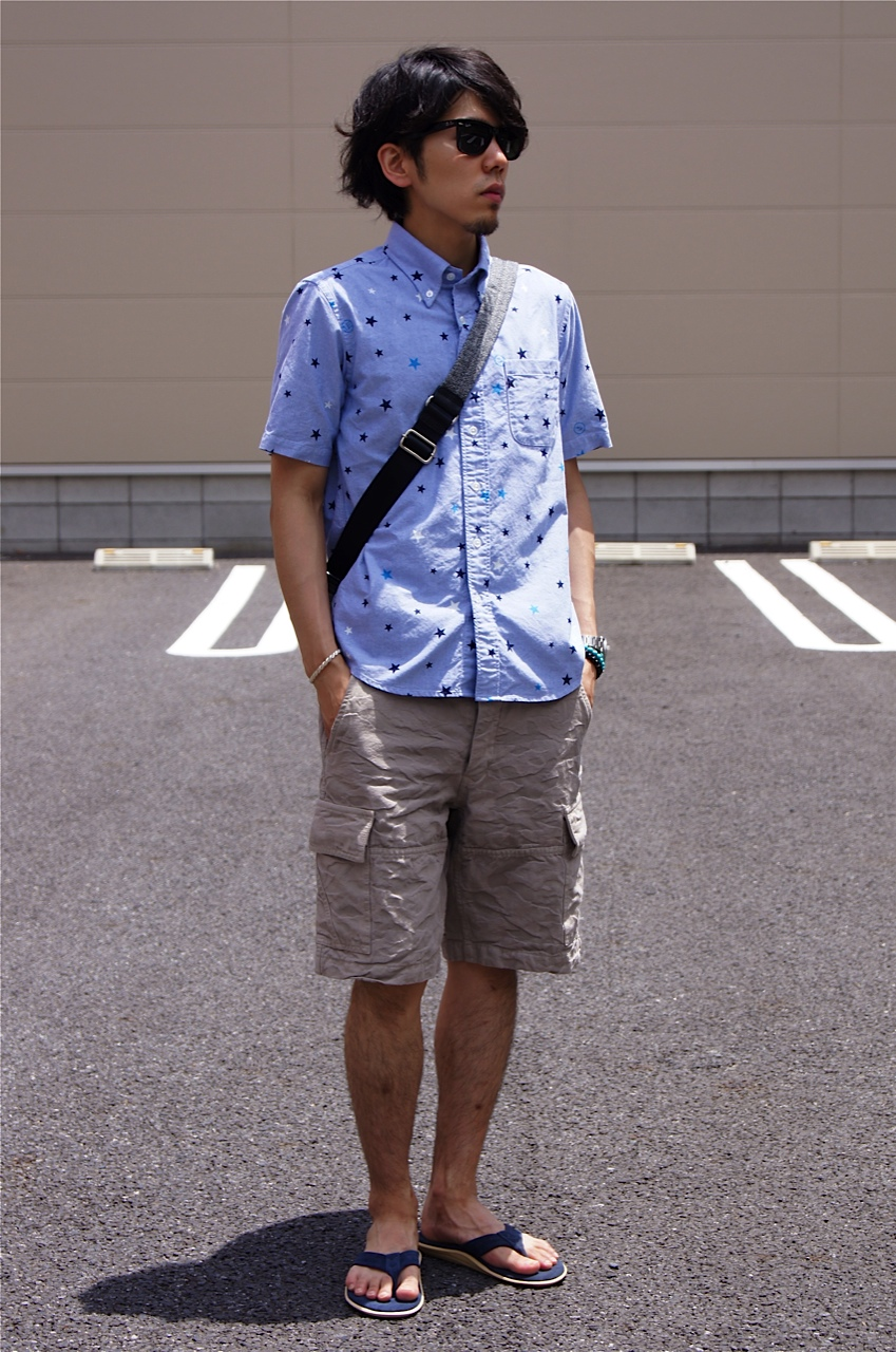 "The Summer style ""uniform experiment × COURT ROLL\"" etc..._c0079892_20292665.jpg"