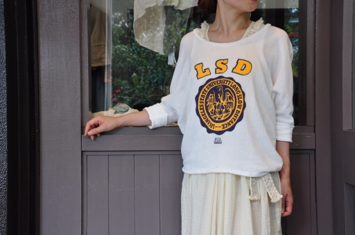 夏のTシャツスタイル・・・Rita Jeans Tokyo_e0127399_19221244.jpg