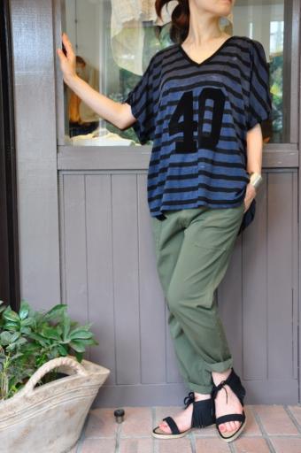 夏のTシャツスタイル・・・Rita Jeans Tokyo_e0127399_19244486.jpg