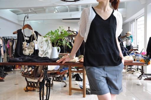 夏のTシャツスタイル・・・Rita Jeans Tokyo_e0127399_19364883.jpg