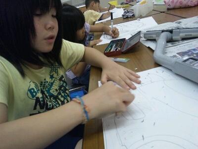 水彩 掃除機・ごちそうを描こう~城陽教室~_f0215199_12413498.jpg