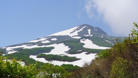 2012年6月15日 新緑と残雪と山菜と酒の鳥海山へ_c0242406_18375556.jpg