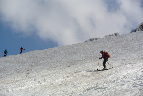 2012年6月15日 新緑と残雪と山菜と酒の鳥海山へ_c0242406_19175354.jpg