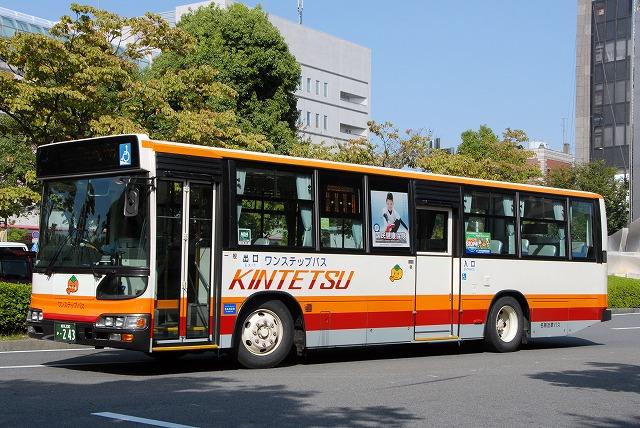 名阪近鉄バス~ブルーリボンシティ ワンステップバス~_a0164734_23135537.jpg