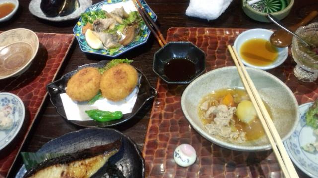 和食を食べに行きましたぁ_e0114246_551083.jpg