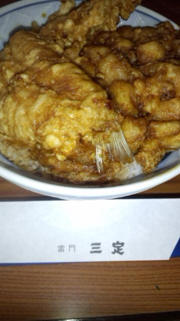 天丼食べましたぁ_e0114246_6131930.jpg