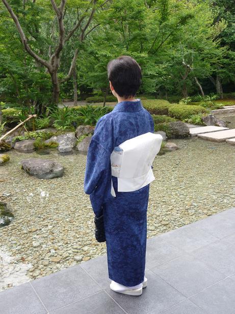 モダンなお茶会・野村エミさんとお客様の着姿。_f0181251_15502594.jpg