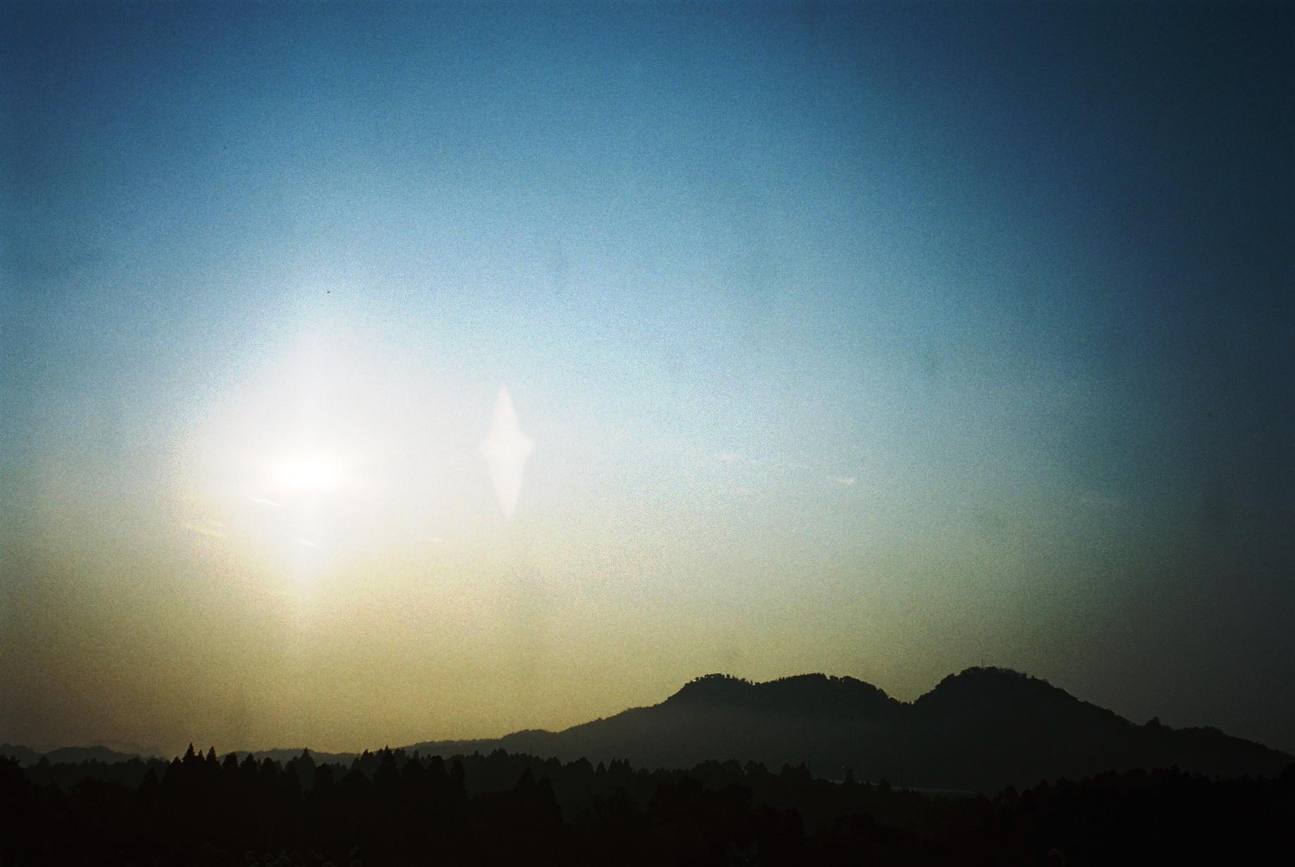 聖なるお山・・「白鹿山」から昇る朝陽_a0174458_14574966.jpg