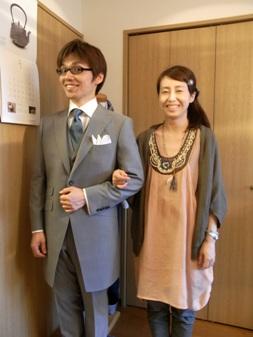 """""""兄妹""""の結婚式でも ~ """"親友""""の結婚式でも ~ 【TUWAMONOスーツ】 「よっ!日本男児」 編_c0177259_15445138.jpg"""