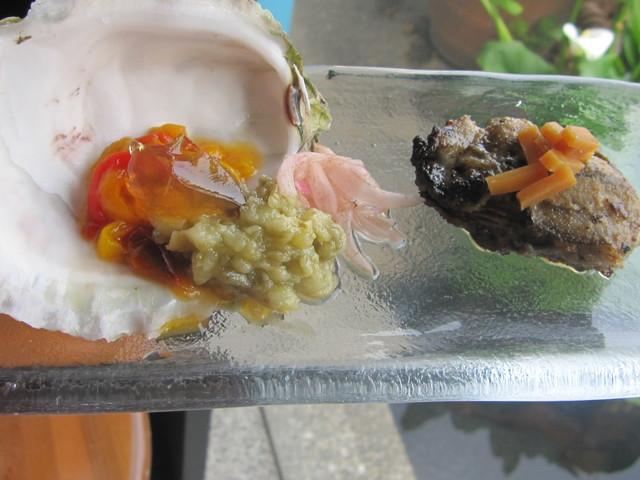 6月の料理「御荘の岩牡蠣」_d0177560_1518512.jpg