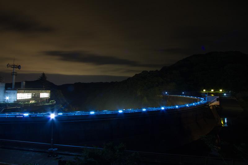 天ヶ瀬ダム 放流ライトアップ_e0214961_19263350.jpg