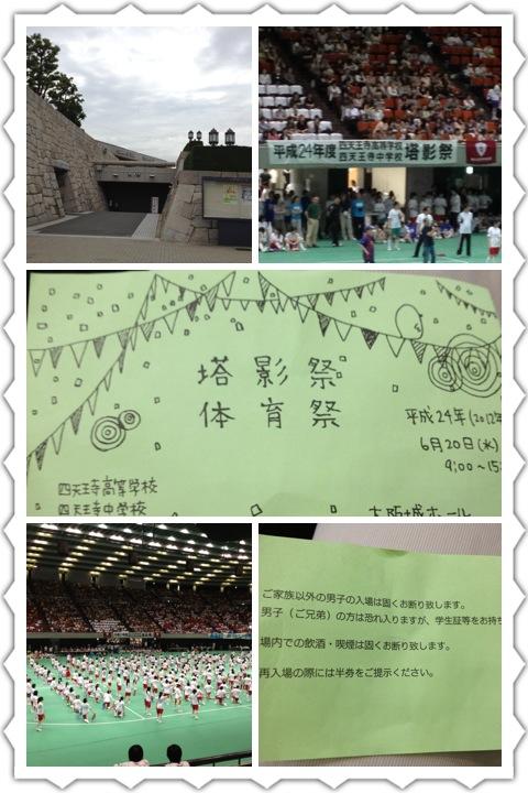 大阪マラソン落選と娘の運動会_a0194908_1625544.jpg