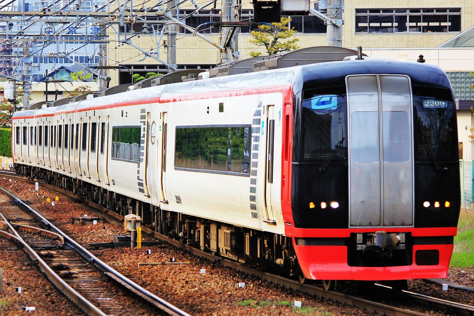 名古屋鉄道 2200系/2209F : 鉄道...