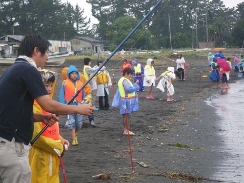 上壱分方小学校 環境体験釣り教室_f0175450_15364071.jpg