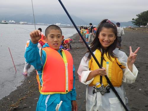 上壱分方小学校 環境体験釣り教室_f0175450_15371157.jpg