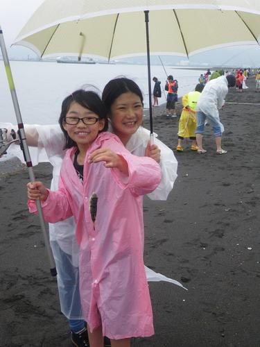 上壱分方小学校 環境体験釣り教室_f0175450_15372752.jpg