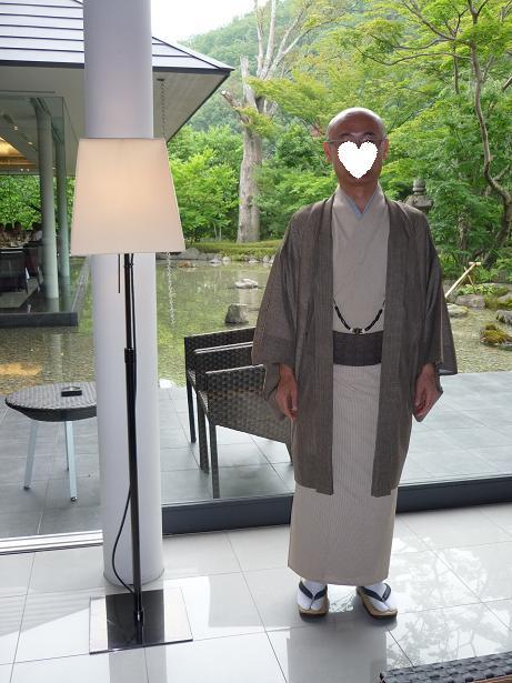 秋草模様の紗合わせ・主人の着物・臨時休業。_f0181251_17343915.jpg