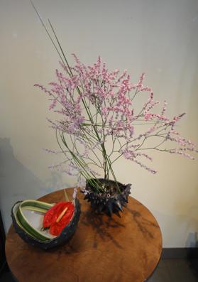 花と器のコラボレ展_e0109554_7345290.jpg