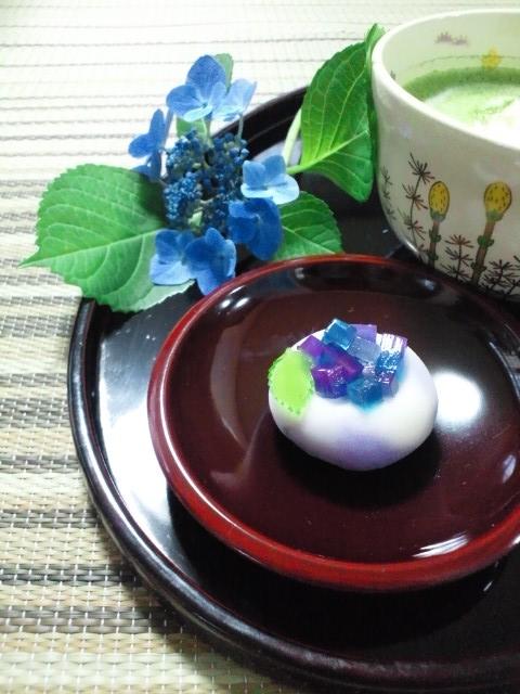 美味しそうな紫陽花♪_b0108363_2232291.jpg