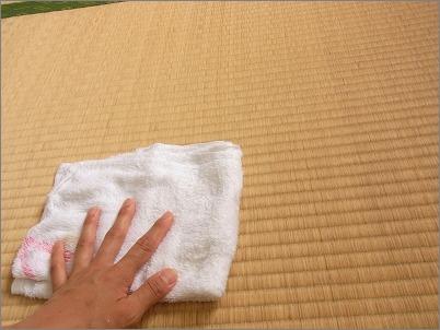 【 畳の拭き掃除×ミント 】_c0199166_23495596.jpg