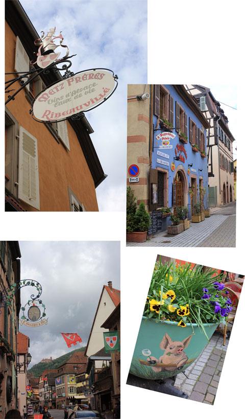 アルザス ワイン街道 2 Ribeauville_f0127281_2222274.jpg