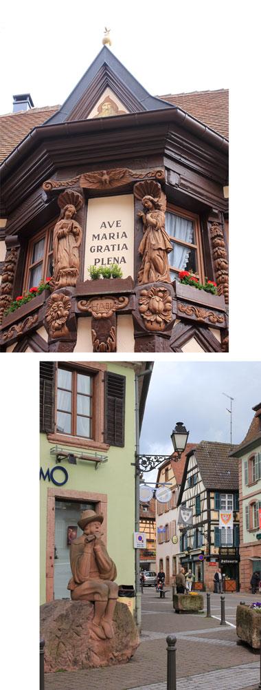 アルザス ワイン街道 2 Ribeauville_f0127281_22293097.jpg