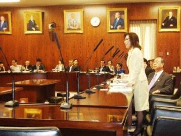 少子化担当大臣に質問― 6 ・14 内閣委_f0150886_17473438.jpg