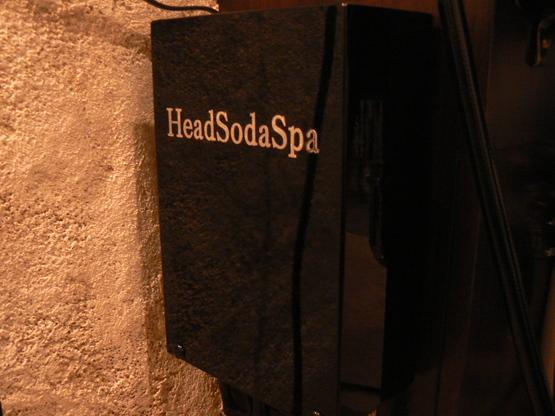 炭酸泉ヘッドソーダスパ到着。。。。_b0210688_164101.jpg
