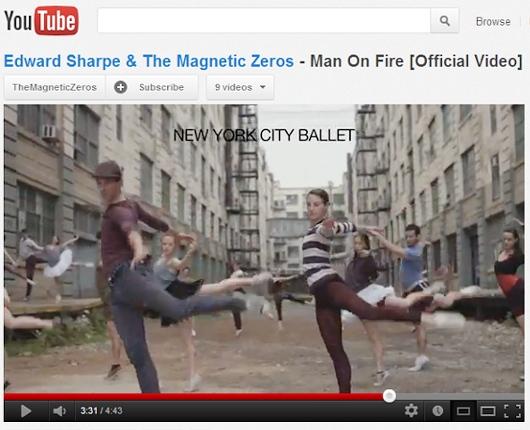 ニューヨークのいろんなダンサーが登場するMan On Fireのミュージック・ビデオ_b0007805_23411075.jpg