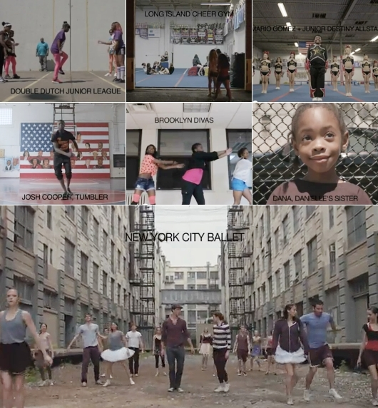 ニューヨークのいろんなダンサーが登場するMan On Fireのミュージック・ビデオ_b0007805_23413313.jpg