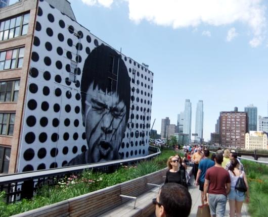 ニューヨークの空中公園ハイラインにパブリック・アート増殖中_b0007805_8315514.jpg