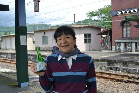鳥海山麓「真坂」への楽しい鉄道の旅_c0242406_1572340.jpg