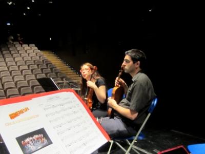 今期最後のコンサートはFrancesca Bonnemaisonでコーラスと_b0064411_416360.jpg