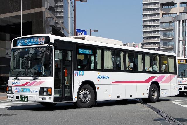 西鉄バス~エルガ(高速仕様)~_a0164734_22543796.jpg