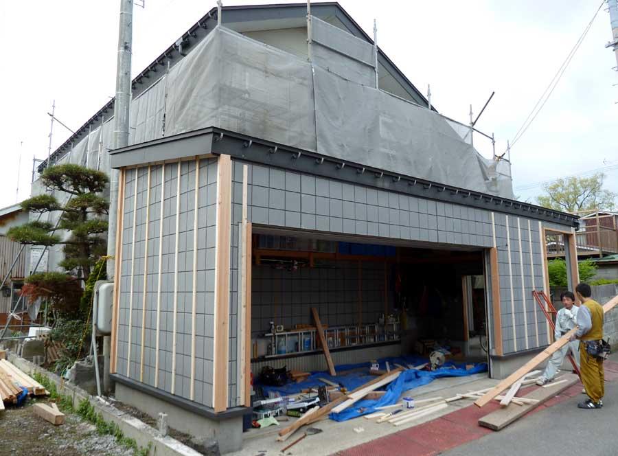 N邸「柳町の家」外壁リフォーム工事_f0150893_11364518.jpg