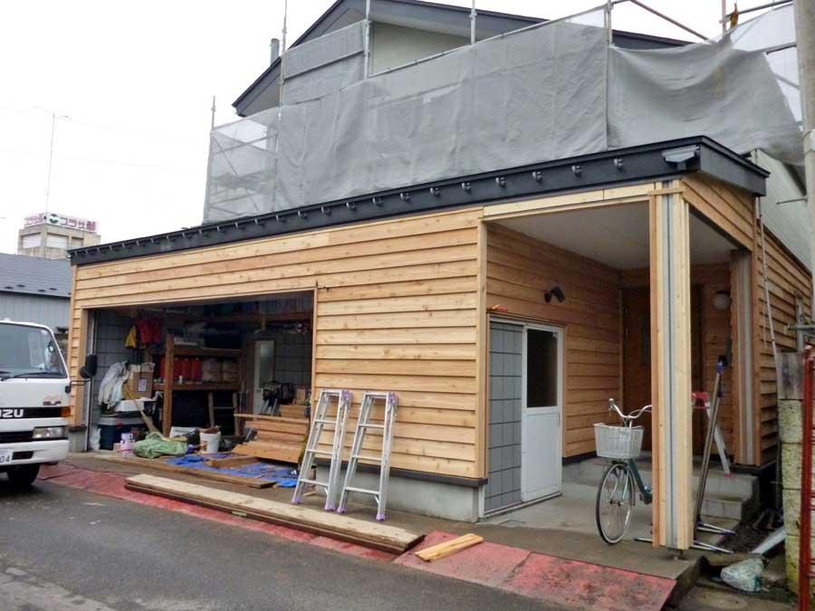 N邸「柳町の家」外壁リフォーム工事_f0150893_1137280.jpg