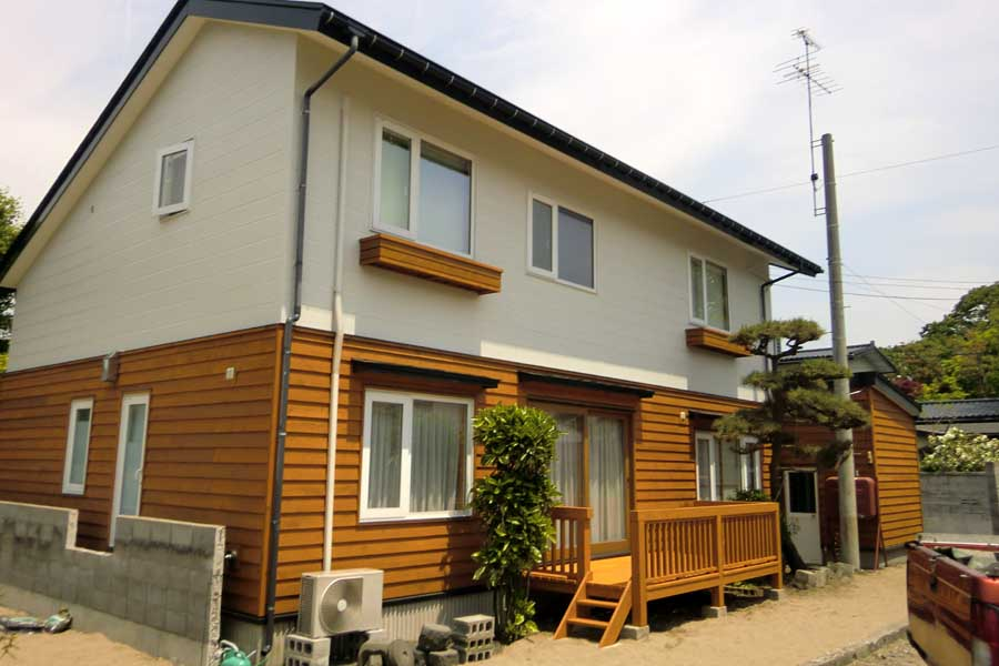 N邸「柳町の家」外壁リフォーム工事_f0150893_11384122.jpg