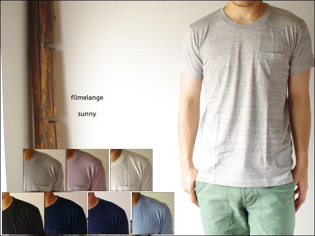 Filmelange[フィルメランジェ] SUNNY [サニー] ポケット無地Tシャツ_f0051306_17354667.jpg