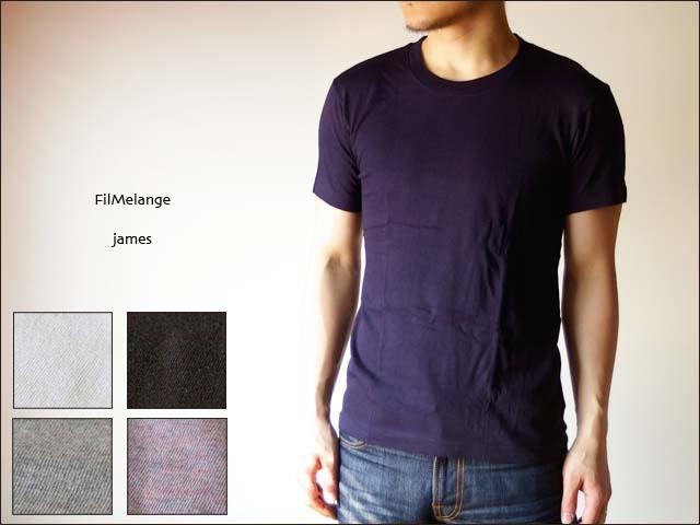 Filmelange[フィルメランジェ] JAMES[ジェームス]無地Tシャツ_f0051306_17373542.jpg