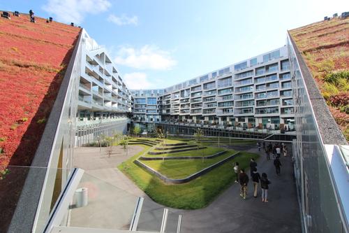 12北欧研修:コペンの再開発オレスタッド・シティー2:8ハウス集合住宅_e0054299_20302618.jpg