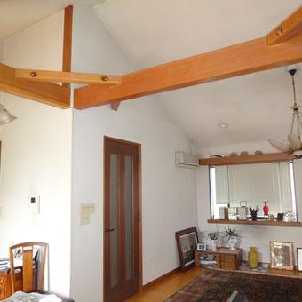 37・木造住宅の改修 「タブノキのある家」の2階居間食堂の現況。_c0195909_1523540.jpg