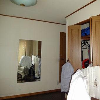 36・木造住宅の改修 「タブノキのある家」の1階南側のトレーニング室。_c0195909_1535067.jpg