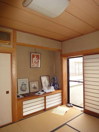 39・木造住宅の改修 「タブノキのある家」の使われていなかった2階の和室。_c0195909_16202337.jpg