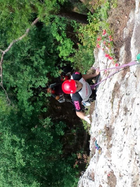 岩登り、また行っちゃいました!(6月23日)_f0101226_21443959.jpg