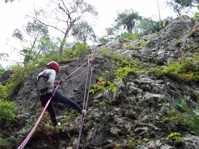 岩登り、また行っちゃいました!(6月23日)_f0101226_2146496.jpg